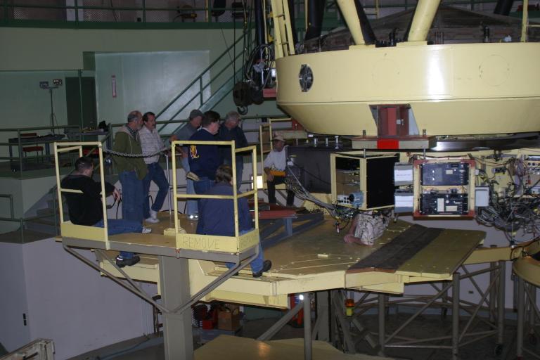 telescope mirror aluminising, silvering, coating, realuminising